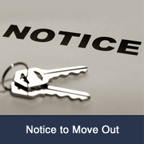 Notice to Move Out